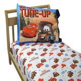 NoJo Disney Cars Team Lightning McQueen 2 Piece Toddler Bedding SetCotton Blend in Blue | Wayfair 6590038