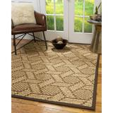 World Menagerie Johansson Hand-Hooked Area Rug Jute & Sisal in Brown, Size 108.0 H x 30.0 W x 0.5 D in | Wayfair 3F79E07CC3EA46C0A6B69FF13F1C213C