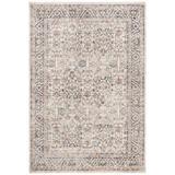 Lauren Ralph Lauren Warwick Oriental Ivory Area Rug Polyester in Brown/White, Size 63.0 W x 0.23 D in | Wayfair LRL1310C-5