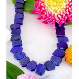 Katherine Winters Women's Necklaces Blue - Blue Lapis & Sterling Silver Amita Statement Necklace