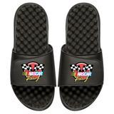 Men's ISlide Black NASCAR Vintage Color Logo Slide Sandals