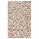 Shaw Super Shag Area Rug Uptown Girl Collection Chic Ivory 6 Feet x 9 Feet.