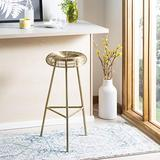 Safavieh Home Collection Addison Gold Wire Weaved 30-inch Bar Stool