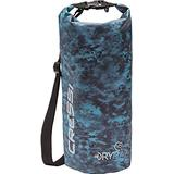Cressi Waterproof Bags 10, 15, 20 liters - Solid and Camouflage Colors - Equipment Protection for Outdoor Activities, Water Sport, Boating, Hunting, Spearfishing