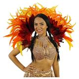 Empress Feather Carnival Costume Backpack - Adult Cosplay/Halloween Costumes