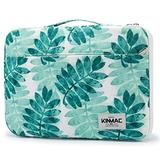 """Kinmac Olive Leaf 360° Protective Waterproof 12 inch Laptop Case Bag Sleeve with Handle for Surface Pro,MacBook Pro 13"""",MacBook 12"""",New MacBook Air 13"""" Retina and iPad pro 12.9"""