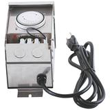Stainless Steel 75-Watt Transformer with Photocell and Timer