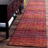 Ebern Designs Hossain Wool Red/Area RugWool in Brown, Size 72.0 H x 48.0 W x 0.63 D in | Wayfair 9BABFC74C8EA42EBB7A1BA0C64507E1E