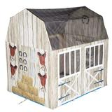 Pacific Play Tents Happy Horse Haven Play House, Brown