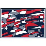 New England Patriots NFLxFIT 39.5'' x 58'' Tapestry