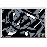"""""""Las Vegas Raiders NFLxFIT 59'' x 82.75'' Tapestry"""""""
