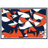 """""""Denver Broncos NFLxFIT 59'' x 82.75'' Tapestry"""""""