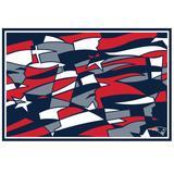 """New England Patriots NFLxFIT 59'' x 82.75'' Tapestry"""
