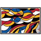 """Pittsburgh Steelers NFLxFIT 39.5'' x 58'' Tapestry"""