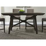 Gracie Oaks Walton 5 Piece Pub Table SetWood in Brown, Size 36.0 W x 72.0 D in | Wayfair BA92135C6A6449BF96637F0074CE0CF9