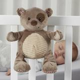 L.A. Baby Plush Sleep Aid Womb Sound Soother Teddy Bear Mobile Fabric in Brown, Size 10.5 H x 8.5 W x 7.3 D in | Wayfair CSS-BR