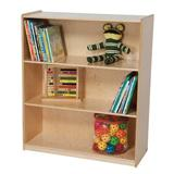 Wood Designs Solid Wood Standard Bookcase Wood in White, Size 42.0 H x 36.0 W x 18.0 D in | Wayfair 13242