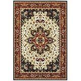 Oriental Weavers Kashan Area Rug, 8' x 11', Red/Ivory