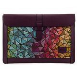 Londo Genuine Leather Sleeve Bag for MacBook Pro (15 & 16 Inch, Purple)
