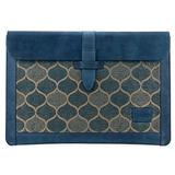 Londo Genuine Leather Sleeve Bag for MacBook Pro & Air - 13 Inch, Blue