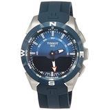 Tissot T Touch Expert Solar II Blue Dial Men's Analog-Digital Watch T110.420.47.041.00
