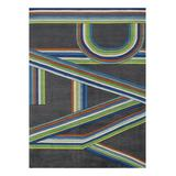 Lil Mo by Momeni Rugs Indoor Rugs BLUE - Gray & Blue 'Play' Rug