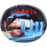Super Bowl LIII 8-Pack Generic Oval Platters