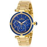 Invicta Women's Bolt Stainless Steel Quartz Stainless-Steel Strap, Gold, 18 Casual Watch (Model: 28959)