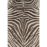 """Loloi Masai Area Rug, 3'-6"""" x 5'-6"""", Java/Ivory"""