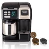 Hamilton Beach 10-Cup FlexBrew Thermal Coffee Maker in Black, Size 13.9 H x 10.63 W x 10.24 D in | Wayfair 49966