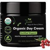Organic Face Moisturizer - USDA Certified Organic Face Cream - Anti Wrinkle Day Cream - Natural Anti Aging Face Cream - Organic Day Cream - Face Cream for Dry Skin - Anti Wrinkle Face Cream