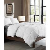 Cheer Collection Comforters White - White Microfiber Goose Down-Alternative Duvet Insert