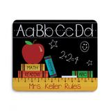 Personalized Planet Mouse Pads - Teachers Rule Personalized Mouse Pad