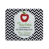 Personalized Planet Mouse Pads - 'Teachers Live Forever' Personalized Mouse Pad