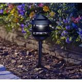 Moonrays Low Voltage Solar Powered Integrated LED Pathway Light Plastic in Black, Size 23.0 H x 6.5 W x 6.5 D in | Wayfair 95556