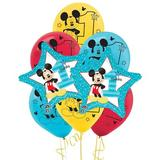 NA Mickey 1st Birthday Disposable Balloon Kit Paper in Blue/Red/Yellow   Wayfair 264072