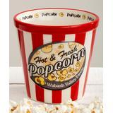 Wabash Valley Farms Popcorn - Red & White Stripe Popcorn Individual Bowl