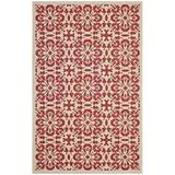 Ariana Vintage Floral Trellis 8x10 Indoor and Outdoor Area Rug R-1142D-810
