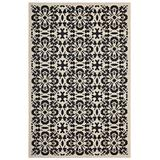 Ariana Vintage Floral Trellis 5x8 Indoor and Outdoor Area Rug R-1142E-58