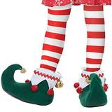 California Costumes unisex adults Elf Shoes - Adult Sized Costumes, Green/White, Small US