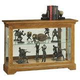 Darby Home Co Brinkerhoff Curio Cabinet in Brown, Size 33.0 H x 47.25 W x 14.0 D in | Wayfair 775F41F5404A4CA28354046FF6C1950B