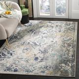 Mistana™ Christa Ivory/Blue Rug Polypropylene in Blue/Brown, Size 72.0 H x 48.0 W x 0.35 D in | Wayfair 7D434DCDFFC441B1BC4713F2A2966C3E