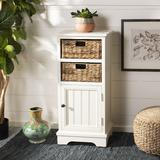 Connery Cabinet in Distressed White - Safavieh AMH5742B
