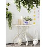 Annalise Accent Table in Antique White - Safavieh PAT5008A
