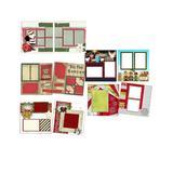 EZ Scrapbooks Art Paper - It's Christmas Quickpage Scrapbook Set
