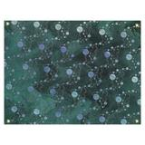 Latitude Run® Ombre Planets Stars Wall Tapestry Polyester in Black, Size 91.0 H x 107.5 W in   Wayfair 594141366A284617B8888F3239ECA7FB