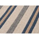 Highland Dunes Fikes Polo Area Rug Polyester/Wool in Blue, Size 48.0 H x 48.0 W x 0.5 D in | Wayfair 080BD50F368D4B4D89299093A7EC2F59