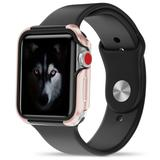Apple Watch Series 1, 2 and 3 42mm Zizo SHOCK Series Hybrid Case, Rose Gold/Black