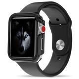 Apple Watch Series 1, 2 and 3 38mm Zizo SHOCK Series Hybrid Case, Black