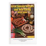 National Book Network Cookbooks - Great Sausage Recipes & Meat Curing, Fourth Edition Cookbook